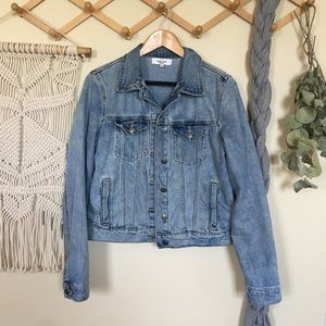 Carly Jean Los Angeles Fletcher denim jacket